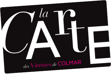 Carte fidélité Vitrines de Colmar