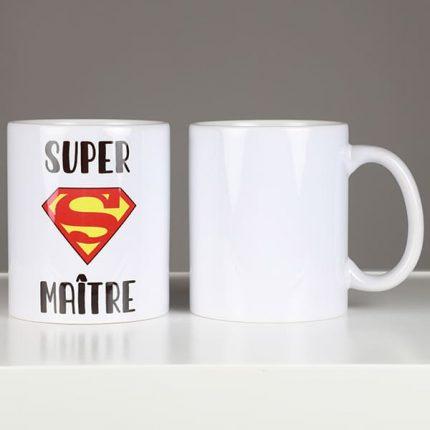 TASSE PERSONNALISÉE SUPER MAÎTRE