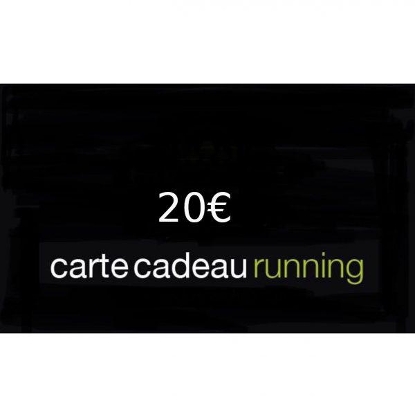 CARTE CADEAU RUNNING